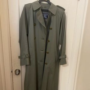 women's burberry's jacket size large 12 xx long